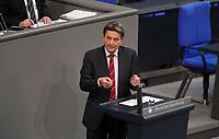 DEU, Deutschland, Germany, Berlin, 31.01.2019: Dr. Rolf Mützenich (SPD) bei einer Rede während einer Plenarsitzung im Deutschen Bundestag.
