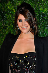 Gemma Arterton attends the 58th London Evening Standard Theatre Awards in association with Burberry, London, UK, November 25, 2012. Photo by Chris Joseph / i-Images.
