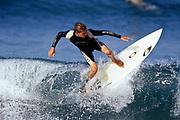 Teen male surfer.
