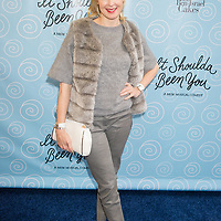 Kelly Rutherford arrives to the opening night of It Should Have Been You on Broadway in New York City.