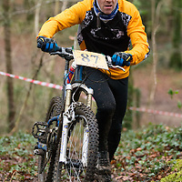 Kevin Synott competing in the Ennis CX Cyclocross Race at Lees Rd, Ennis