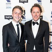 NLD/Hilversum/20190311  - Uitreiking Buma Awards 2019, Jeroen Rietbergen en Julian Vahle