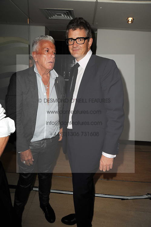 Left to right, NICKY HASLAM and JAY JOPLING at the launch party for 'Promise', a new capsule ring collection created by Cheryl Cole and de Grisogono held at Nobu, Park Lane, London on 29th September 2010.