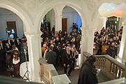 Mariko Mori opening, Royal Academy Burlington Gardens Gallery. London. 11 December 2012.
