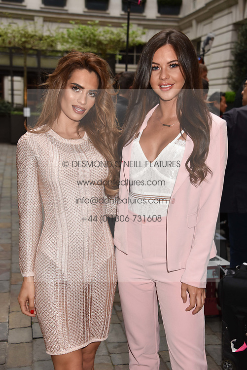 Left to right, Nicole Bass and Shelby Tribble at the Nelson Mandela Foundation Gala Dinner, Rosewood, London England. 24 April 2018.