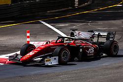 May 25, 2018 - Montecarlo, Monaco - 20 Louis DELETRAZ from France of CHAROUZ RACING SYSTEM during the Monaco Formula Two race 1  at Monaco on 25th of May, 2018 in Montecarlo, Monaco. (Credit Image: © Xavier Bonilla/NurPhoto via ZUMA Press)