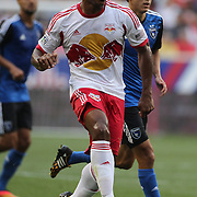Jamison Olave, New York Red Bulls, in action during the New York Red Bulls Vs San Jose Earthquakes, Major League Soccer regular season match at Red Bull Arena, Harrison, New Jersey. USA. 19th July 2014. Photo Tim Clayton