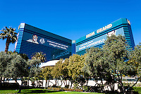 United States, Nevada, Las Vegas. The MGM Grand is the third largest hotel in the world and largest hotel resort complex in the United States.