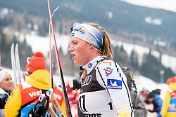 January 6, 2018 - Val Di Fiemme, ITALY - 180106 Maria NordstrÅ¡m of Sweden after women's 10km mass start classic technique during Tour de Ski on January 6, 2018 in Val di Fiemme..Photo: Jon Olav Nesvold / BILDBYRN / kod JE / 160122 (Credit Image: © Jon Olav Nesvold/Bildbyran via ZUMA Wire)