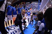DESCRIZIONE : Brindisi  Lega A 2014-15 Enel Brindisi GrissinBon Reggio Emilia<br /> GIOCATORE : Bucchi Piero <br /> CATEGORIA : Allenatore Coach Time Out Mani <br /> SQUADRA : Enel Brindisi<br /> EVENTO : Playoff gara 4<br /> GARA :Enel Brindisi GrissinBon Reggio Emilia<br /> DATA : 25/05/2015<br /> SPORT : Pallacanestro<br /> AUTORE : Agenzia Ciamillo-Castoria/M.Longo<br /> Galleria : Lega Basket A 2014-2015<br /> Fotonotizia : <br /> Predefinita :