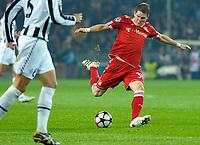 Bastian Schweinsteiger (Bayern Monaco) <br /> Torino 08/12/2009 Stadio Olimpico<br /> Juventus vs Bayern Monaco - Champions League 2009-10.<br /> Foto Giorgio Perottino / Insidefoto