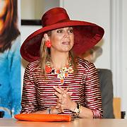 NLD/Utrecht/20160519 - Koningin Maxima bij start Kansen Krijgen Kansen Pakken op het MBO in Utrecht