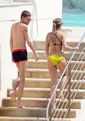 EXCLUSIVE: **NO WEB UNTIL 8PM GMT 26TH MAY** Rita Ora and mystery man sighted swimming at the Hotel du Cap-Eden-Roc in Antibes. 25 May 2017 Pictured: Rita Ora. Photo credit: GoldStar Media / MEGA TheMegaAgency.com +1 888 505 6342