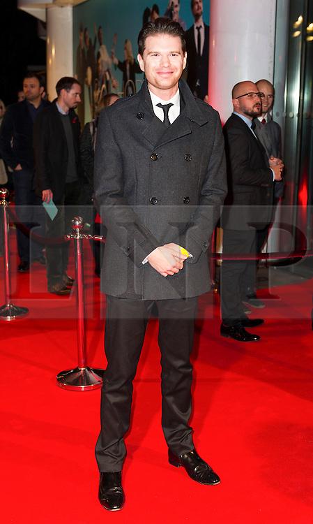 © London News Pictures. 07/11/2013. London, UK. Jeremy Irvine attending Virgin Media Shorts, BFI IMAX. Photo Credit: Raimondas Kazenas/LNP