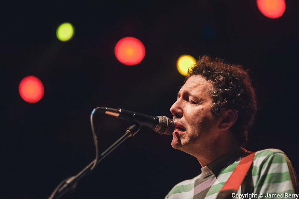 Yo La Tengo perform live at Shepherds Bush Empire, London, on Tuesday 20 October 2015. Picture shows Ira Kaplan.