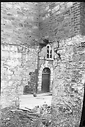 Bomb Damage, Green St. Court.15/07/1976.07/15/1976.15th July 1976..Picture of some of the damage caused by the explosion at Green Street. Four prisoners succeeded in escaping through this demolished wall.