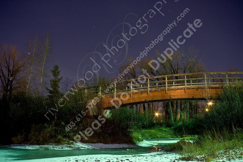 Light Painted Bridge