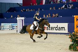 De Jong Sanne, NED, Kantje's Montana<br /> Jumping Amsterdam 2008<br /> © Hippo Foto - Dirk Caremans<br /> 27/01/2008