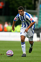 Football<br /> Coca Cola Football League One<br /> Brighton and Hove Albion vs Wycombe Wanderers at The Withdean Stadium, Brighton<br /> Brighton's Gary Dicker<br /> 05/09/2009<br /> Credit Colorsport / Shaun Boggust