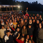 Decendents of Russia's greatest novelist, Lev Tolstoy,  gather at his estate in Yasnaya Polyana, Russia, to commemorate 100 years of his death.