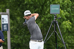May 25, 2019 - Fort Worth, TX, U.S. - FORT WORTH, TX - MAY 25: Roger Sloan hits from the 6th tee during the third round of the Charles Schwab Challenge on May 25, 2019 at Colonial Country Club in Fort Worth, TX. (Photo by George Walker/Icon Sportswire) (Credit Image: © George Walker/Icon SMI via ZUMA Press)