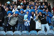 Brighton fans and supporters during the EFL Sky Bet Championship match between Queens Park Rangers and Brighton and Hove Albion at the Loftus Road Stadium, London, England on 7 April 2017.