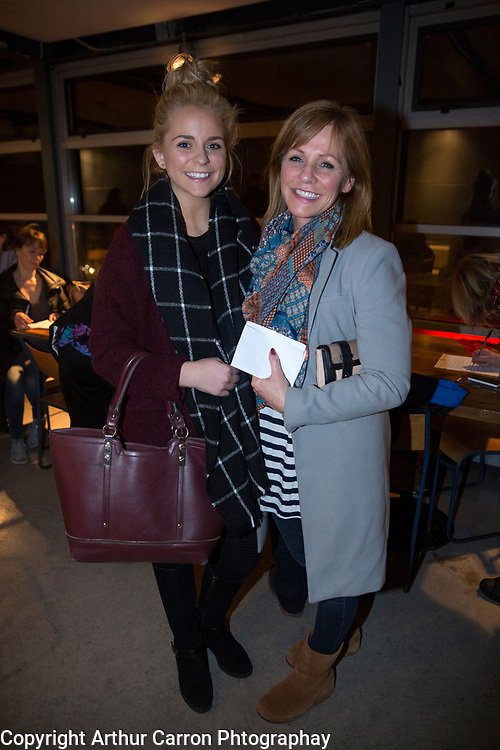 7/1/16 Sophie and Caroline Freeman, Castleknock at the play Overshadowed at the Project Arts Centre in Temple Bar. Picture: Arthur Carron