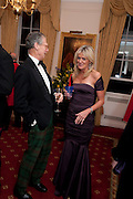 ALEXANDRA DUNHILL, Charity Dinner in aid of Caring for Courage The Royal Scots Dragoon Guards Afganistan Welfare Appeal. In the presence of the Duke of Kent. The Royal Hospital, Chaelsea. London. 20 October 2011. <br /> <br />  , -DO NOT ARCHIVE-© Copyright Photograph by Dafydd Jones. 248 Clapham Rd. London SW9 0PZ. Tel 0207 820 0771. www.dafjones.com.