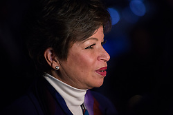 January 10, 2017 - Chicago, IL, United States - On Tuesday, January 10, Valerie B. Jarrett, Senior Advisor to President Barack Obama, in an interview after President Obama delivered his farewell address to the American people at McCormick Place Convention Center. (Credit Image: © Cheriss May/NurPhoto via ZUMA Press)