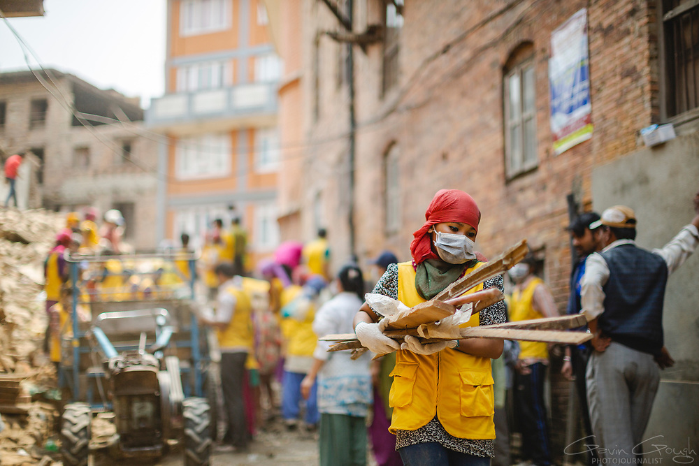 Rebuilding after the 2015 Nepal Earthquake