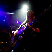 Trollhättan 2012 03 23 Folkets Hus Apollon<br /> Hammerfall<br /> Electric Earth  förband<br /> Lyris Karlsson Bass Guitar <br /> <br /> ----<br /> FOTO : JOACHIM NYWALL KOD 0708840825_1<br /> COPYRIGHT JOACHIM NYWALL<br /> <br /> ***BETALBILD***<br /> Redovisas till <br /> NYWALL MEDIA AB<br /> Strandgatan 30<br /> 461 31 Trollhättan<br /> Prislista enl BLF , om inget annat avtalas.