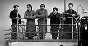 Simple Minds on the Renfew Ferry UK 1983