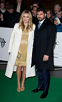 Katherine Jenkins and Andrew Levitas at the Tusk Conservation Awards at Empire Cinema, Leicester Square, London, England
