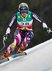 13.02.2011, Kandahar, Garmisch Partenkirchen, GER, FIS Alpin Ski WM 2011, GAP, Damen, Abfahrt, im Bild Stacey Cook (USA) // Stacey Cook (USA) during Downhill Ladies Fis Alpine Ski World Championships in Garmisch Partenkirchen, Germany on 13/2/2011. EXPA Pictures © 2011, PhotoCredit: EXPA/ J. Groder