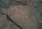 Petroglyphs, Waikoloa, Island of Hawaii<br />