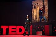 Bina Venkataraman speaks at TED2019: Bigger Than Us. April 15 - 19, 2019, Vancouver, BC, Canada. Photo: Bret Hartman / TED