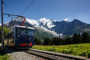 First opened in 1907 the historic Mont Blanc Tramway