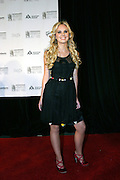 Cheyenne Kimball posing before entering the 37th Annual Songwriters Hall of Fame Induction Ceremony at the Marriott Marquis Hotel in New York, USA, on Thursday, June 15, 2006. **ITALY OUT**