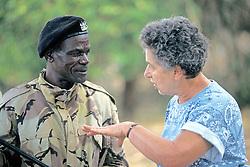 Jackie Fried & Local Leader Talking