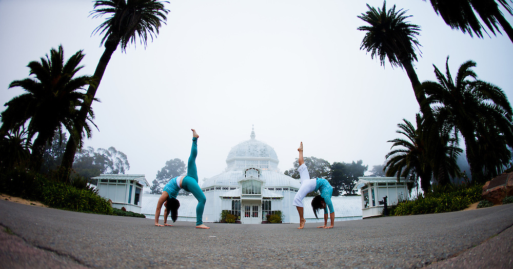 Sungho Kim & Teri Wing at the Conservatory of Flowers, Botanical Garden, San Francisco