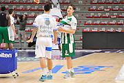 DESCRIZIONE : Campionato 2014/15 Dinamo Banco di Sardegna Sassari - Sidigas Scandone Avellino<br /> GIOCATORE : Brian Sacchetti Riccardo Cortese<br /> CATEGORIA : Before Pregame Fair Play<br /> EVENTO : LegaBasket Serie A Beko 2014/2015<br /> GARA : Dinamo Banco di Sardegna Sassari - Sidigas Scandone Avellino<br /> DATA : 24/11/2014<br /> SPORT : Pallacanestro <br /> AUTORE : Agenzia Ciamillo-Castoria / Claudio Atzori<br /> Galleria : LegaBasket Serie A Beko 2014/2015<br /> Fotonotizia : Campionato 2014/15 Dinamo Banco di Sardegna Sassari - Sidigas Scandone Avellino<br /> Predefinita :