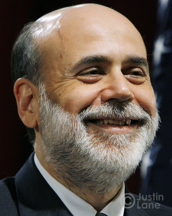 United States Federal Reserve Chairman Benjamin Bernanke speaks during an appearance at the New York University School of Law's Global Economic Policy Forum in New York, New York on Wednesday 11 April 2007. Among the topics discussed by Bernanke was the current market-based hedge fund system in the U.S., which Bernanke said is operating well, but has room for some improvements.