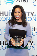 New York, NY-March 15: Michelle Ebanks (Honoree), President, Essence Ventures attends the 2018 'Humanity of Connection' Awards Ceremony powered by AT&T and held at Jazz at Lincoln Center on March 15, 2018 in New York City. (Photo by Terrence Jennings/terrencejennings.com)