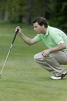 ARNHEM - Folkert Haak.   Voorjaarswedstrijden Golf heren op de Rosendaelsche Golfclub COPYRIGHT KOEN SUYK