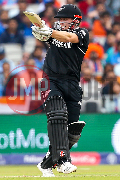 Henry Nicholls of New Zealand - Mandatory by-line: Robbie Stephenson/JMP - 09/07/2019 - CRICKET - Old Trafford - Manchester, England - India v New Zealand - ICC Cricket World Cup 2019 - Semi Final