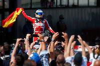 MOTORSPORT - F1 2013 - GRAND PRIX OF SPAIN / GRAND PRIX D'ESPAGNE - BARCELONA (ESP) - 10 TO 12/05/2013 - PHOTO : JEAN MICHEL LE MEUR / DPPI - ALONSO FERNANDO (SPA) - FERRARI F138 - AMBIANCE PORTRAIT