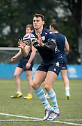 Winger JUAN IMHOFF of French rugby union team, Racing 92 from Paris, during training in Hong Kong. They are preparing ahead of their upcoming match against New Zealand's Super League team, The Highlanders