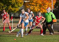 Varsity Gilford Field Hockey versus Laconia Friday, October 5, 2012.