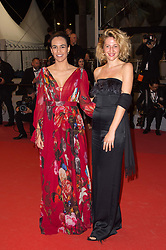 Guests arriving on the red carpet of 'The gangster The cop The devil' screening held at the Palais Des Festivals in Cannes, France on May 22, 2019 as part of the 72th Cannes Film Festival. Photo by Nicolas Genin/ABACAPRESS.COM