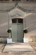 Winery building. Chateau Petit Faurie de Soutard, Saint Emilion, Bordeaux, France